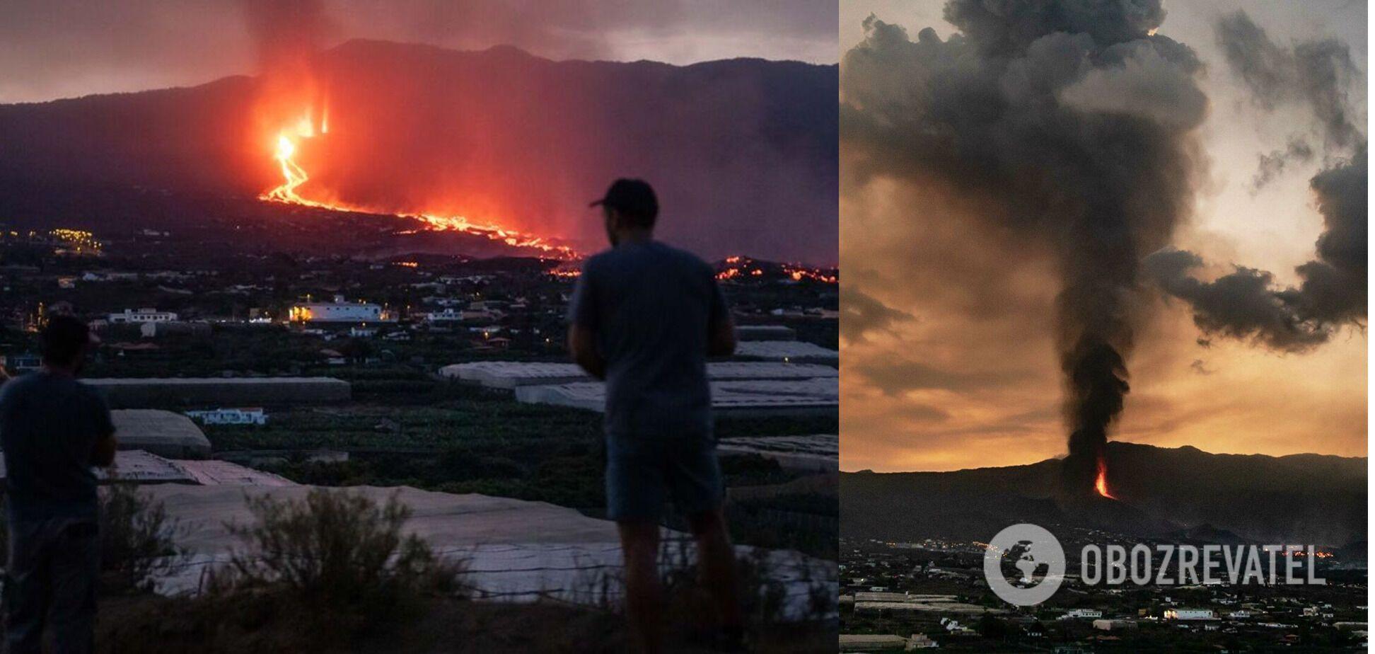 Из ближайших к вулкану районов эвакуировали тысячи людей