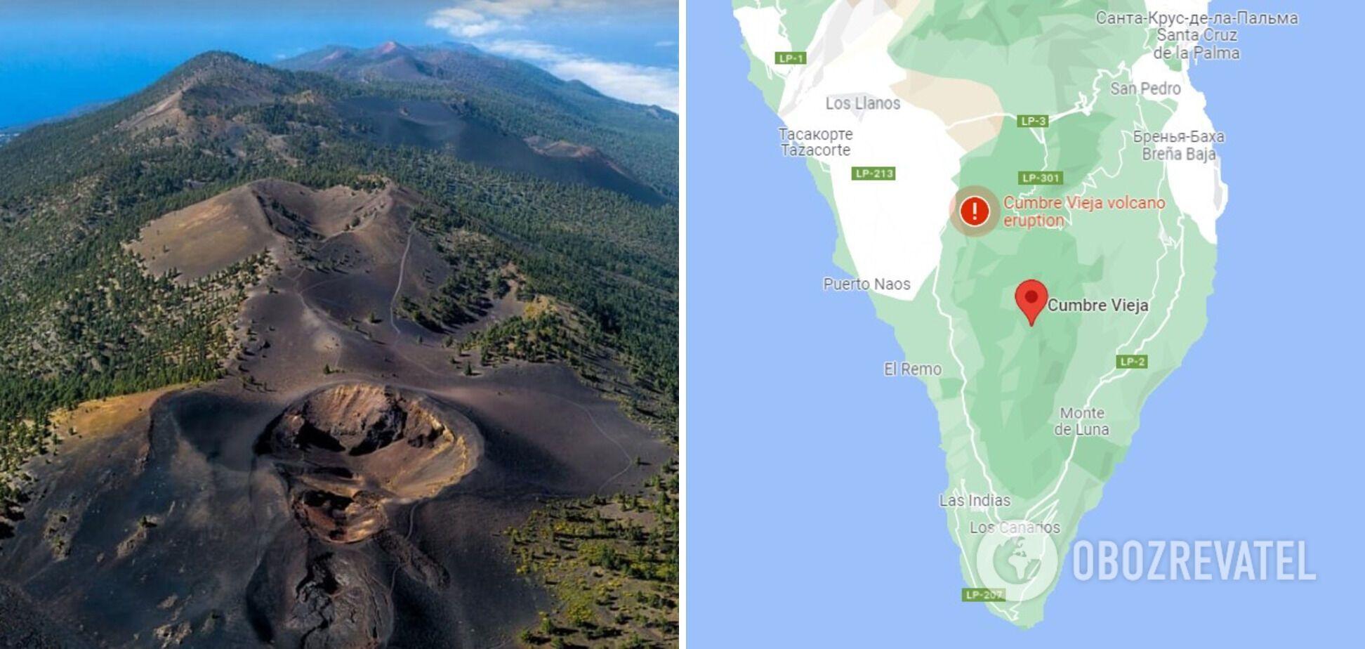 Извержение Кумбре-Вьеха на Ла-Пальме началось 19 сентября