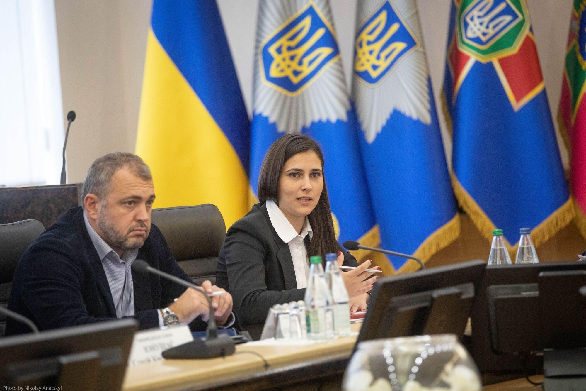 В МВД состоялась встреча министра с представителями Рады и бизнеса
