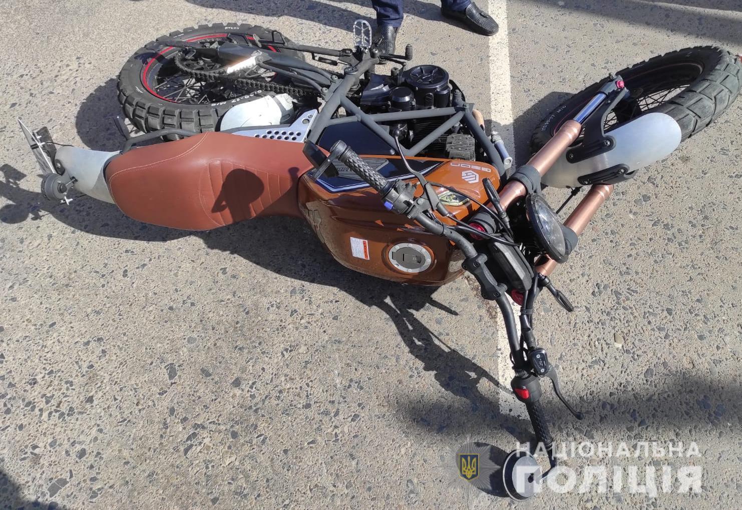 28 сентября на Львовщине произошло пять ДТП с мотоциклами