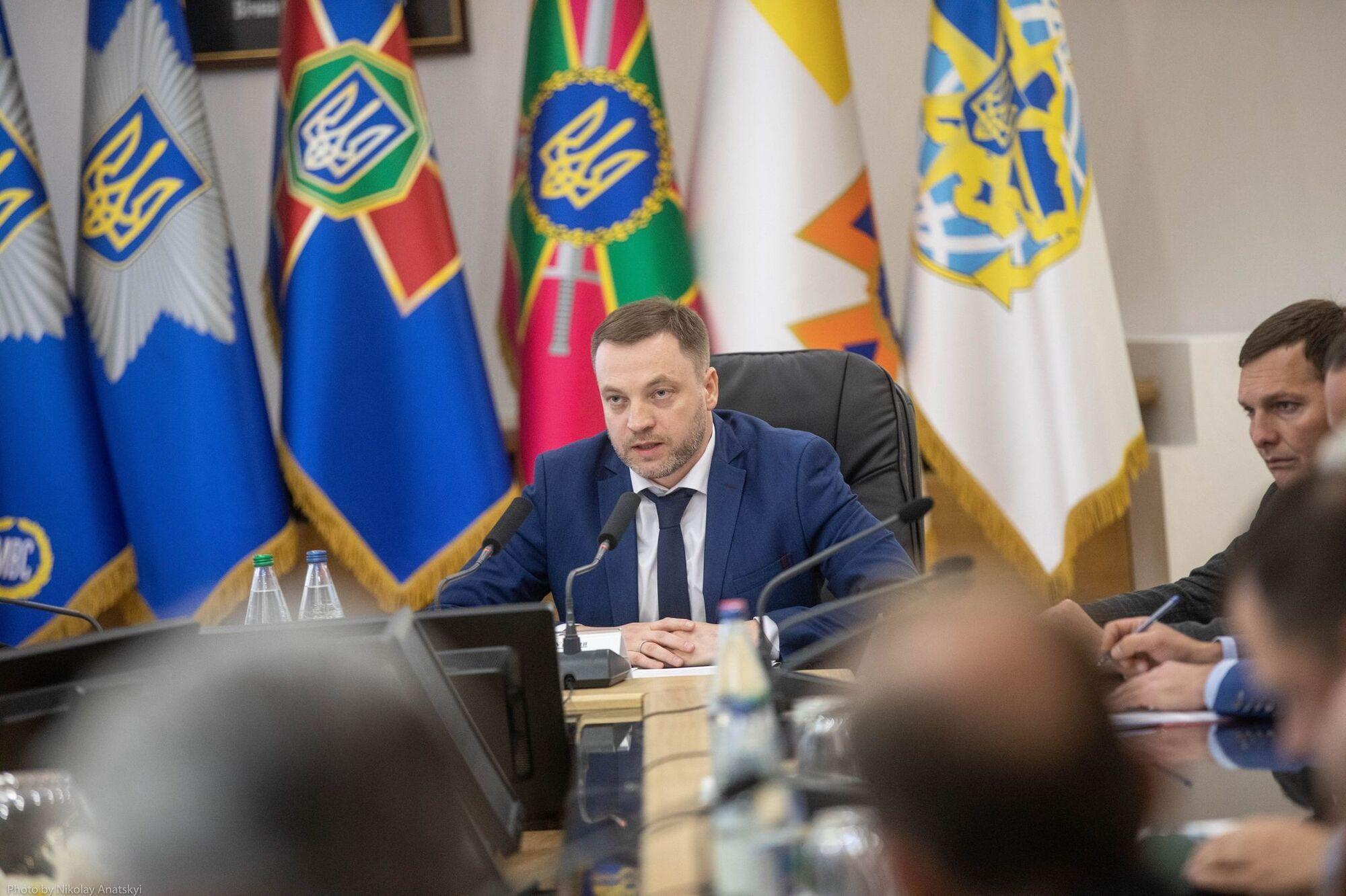 Монастырский провел встречу с представителями Верховной Рады и бизнеса