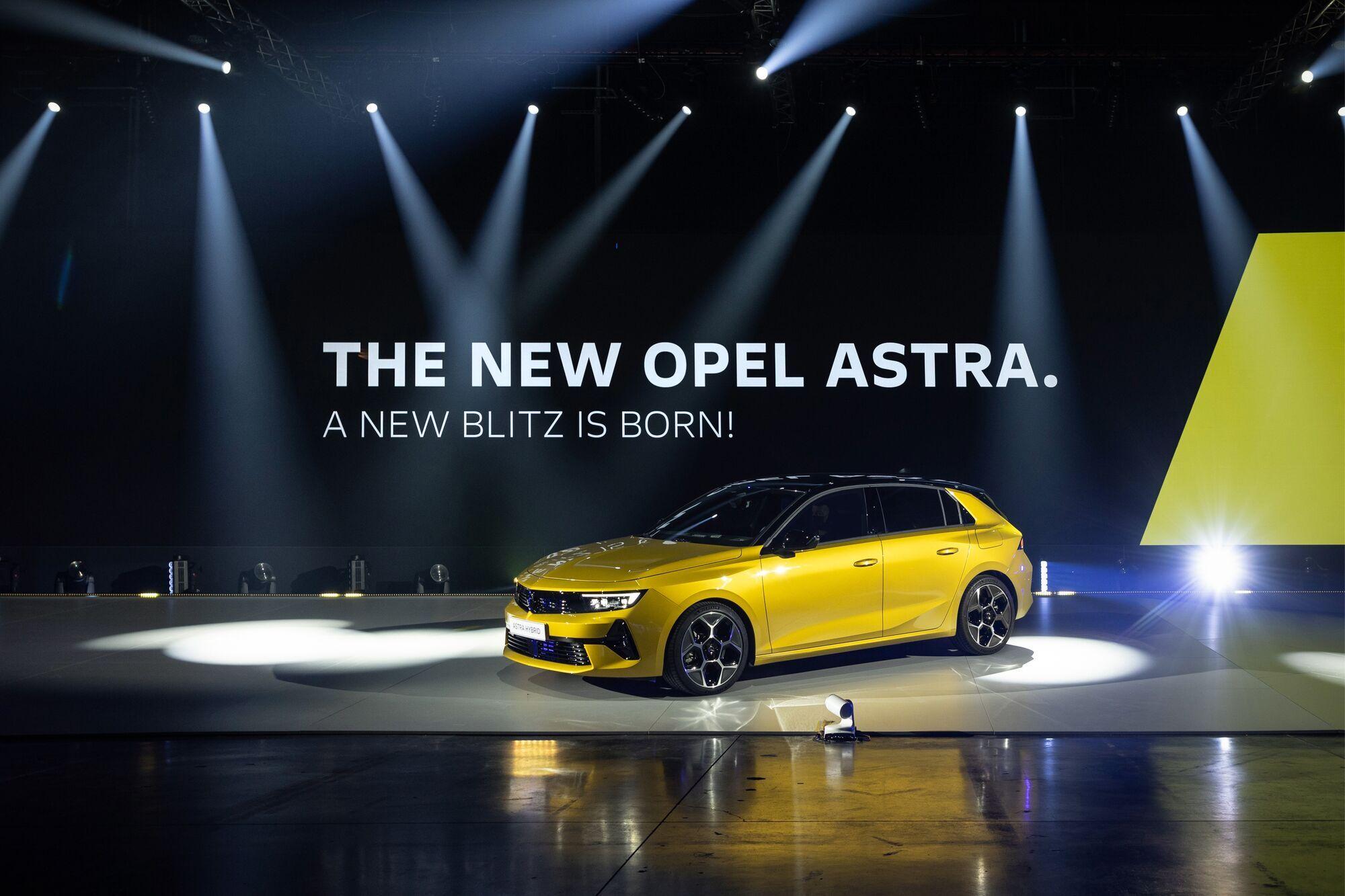 Нове покоління Opel Astra представили в Рюссельсхаймі