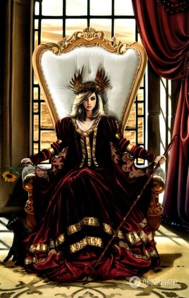 Козеріг – Королева Жезлів