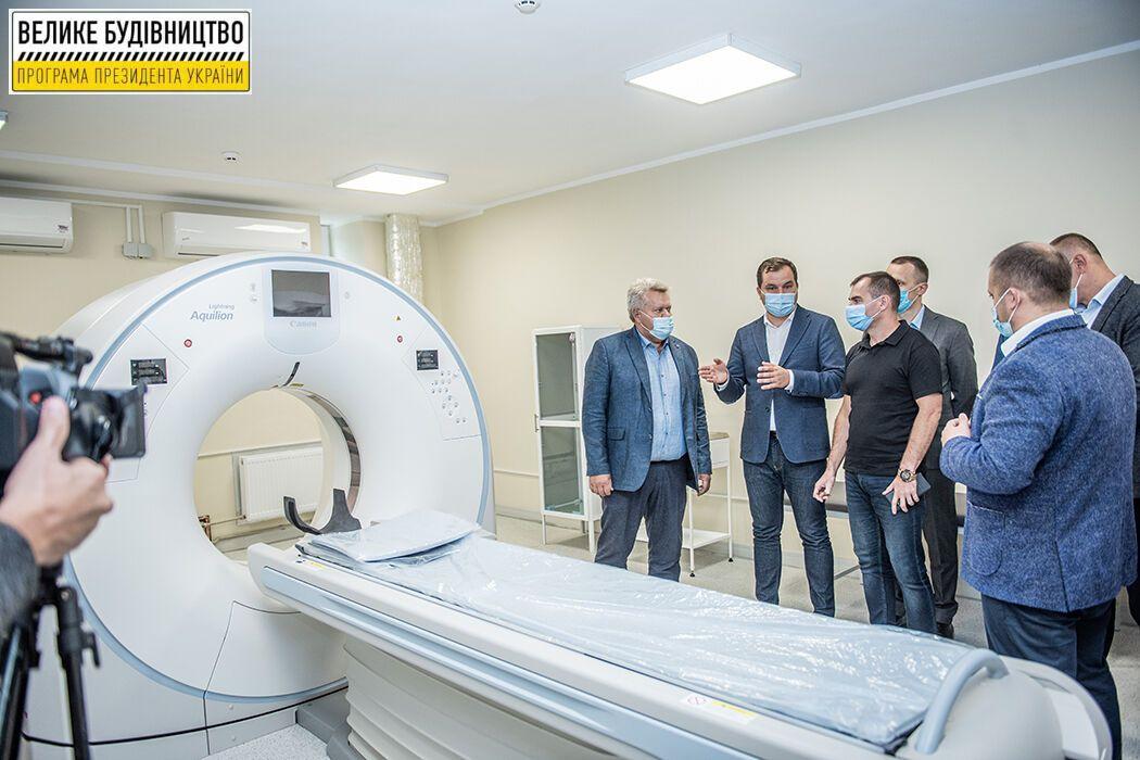 Учреждение получило современный томограф