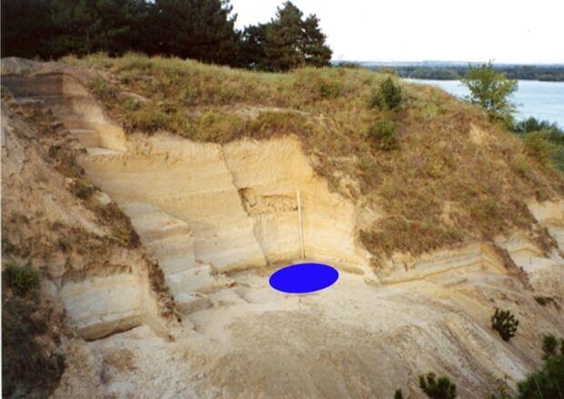 Раскопки на стоянке Мира