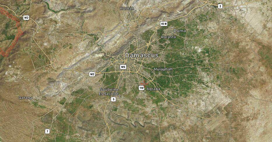 Сирія нібито збила над Дамаском ракети Ізраїлю