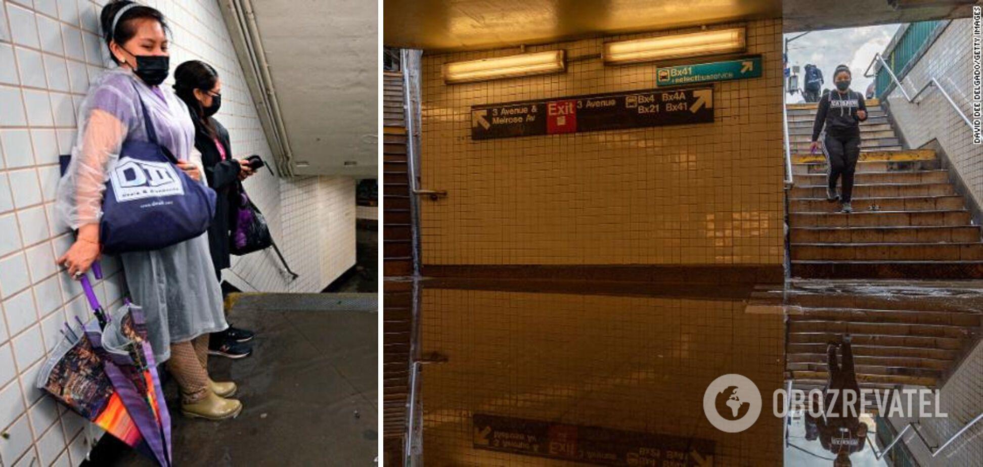 Люди оказались в ловушке внутри метро
