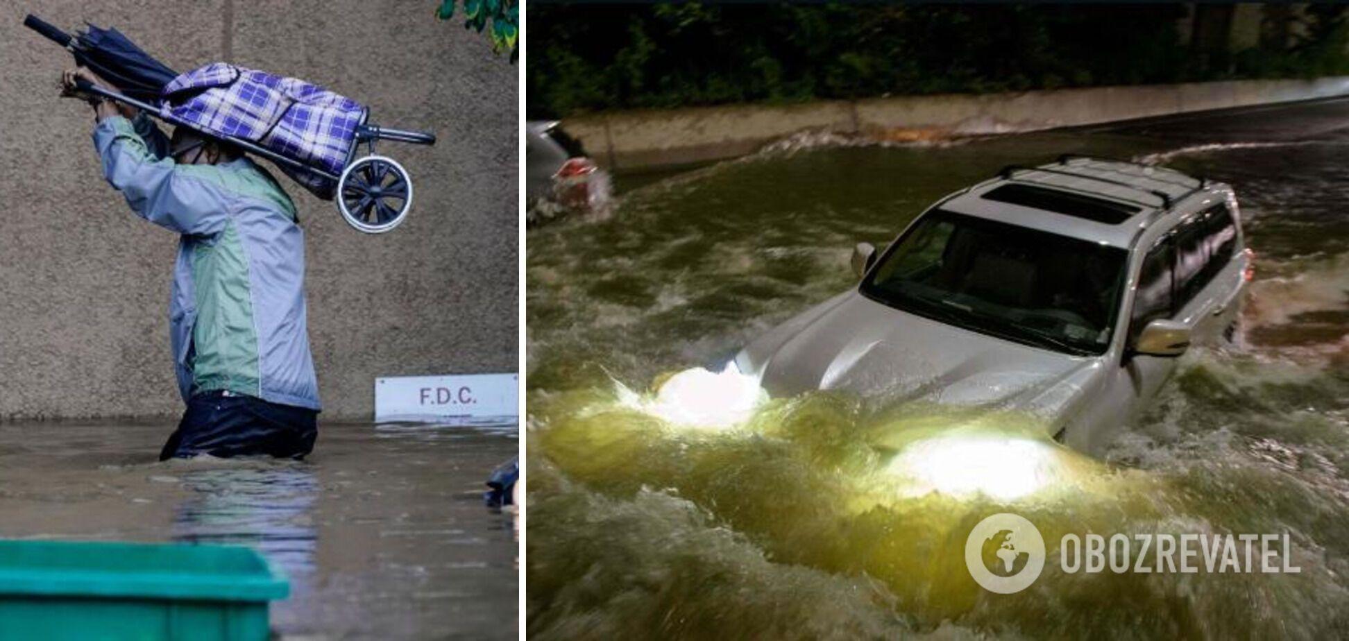Люди погибли в захваченных водой авто