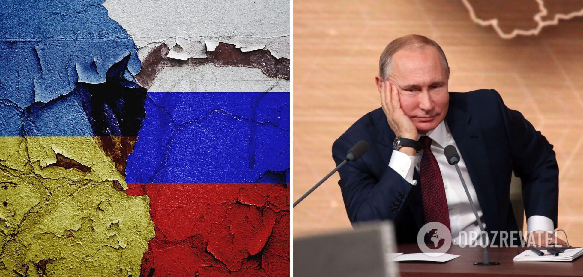 Путін заявив, що розраховує на відновлення відносин РФ з Україною