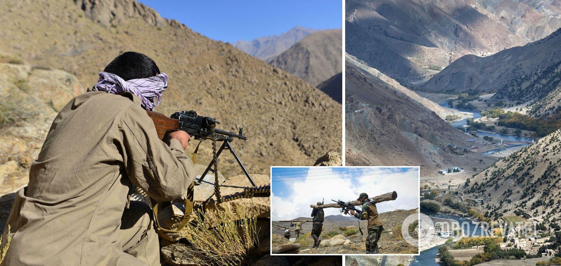 В афганской провинции Панджшер начались ожесточенные бои