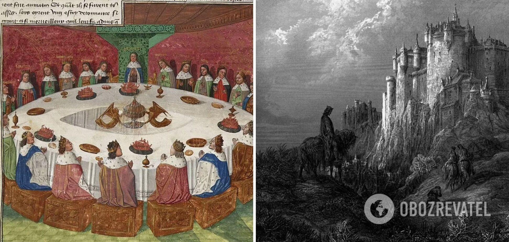 Ілюстрація до творів про короля Артура