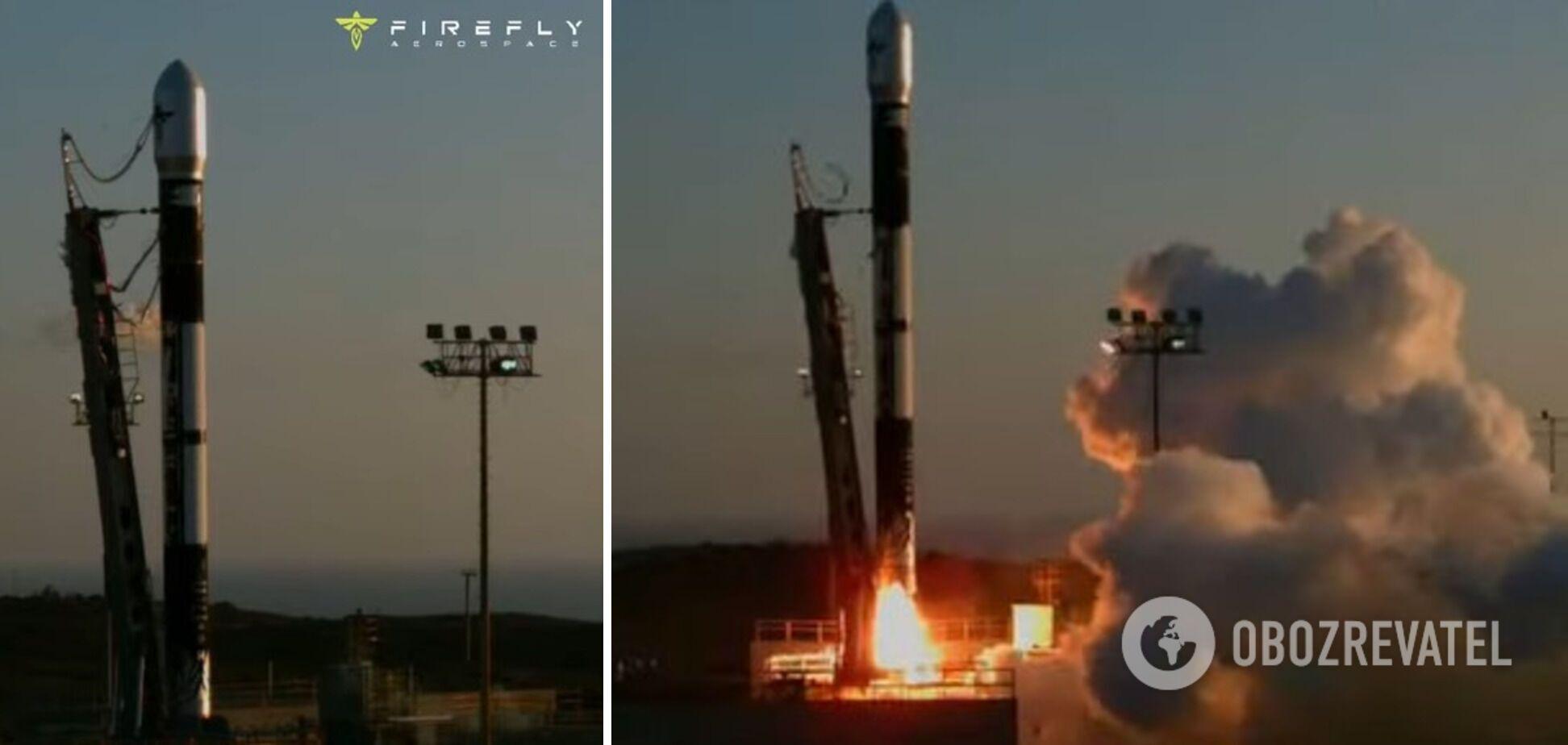 Старт ракети Alpha