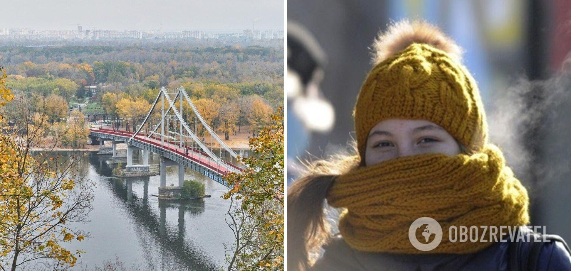 Під кінець жовтня в Україні вдарять нічні морози