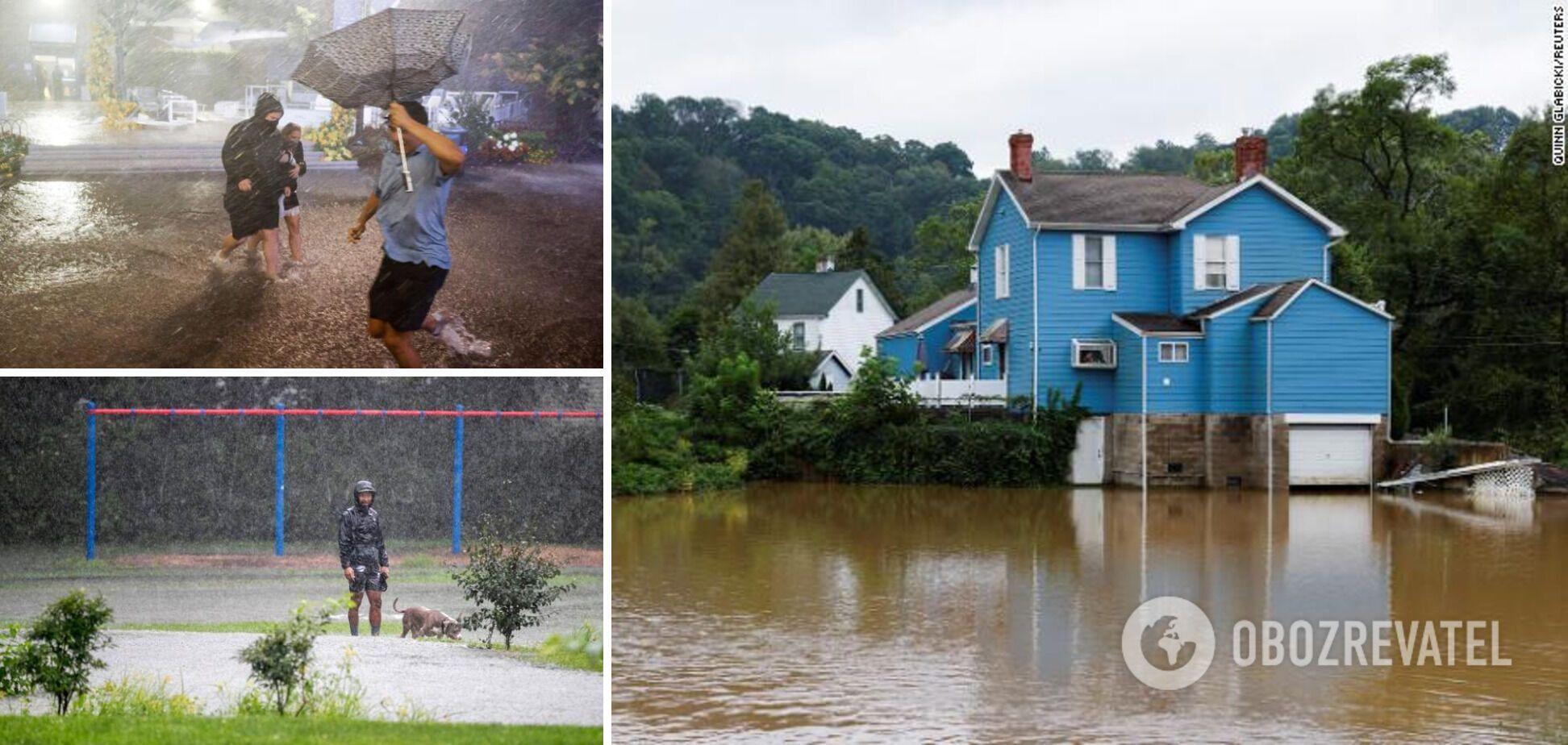 Наводнения накрыли несколько штатов США