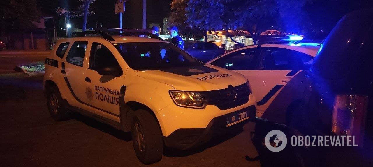 Были стянуты значительные силы правоохранителей.