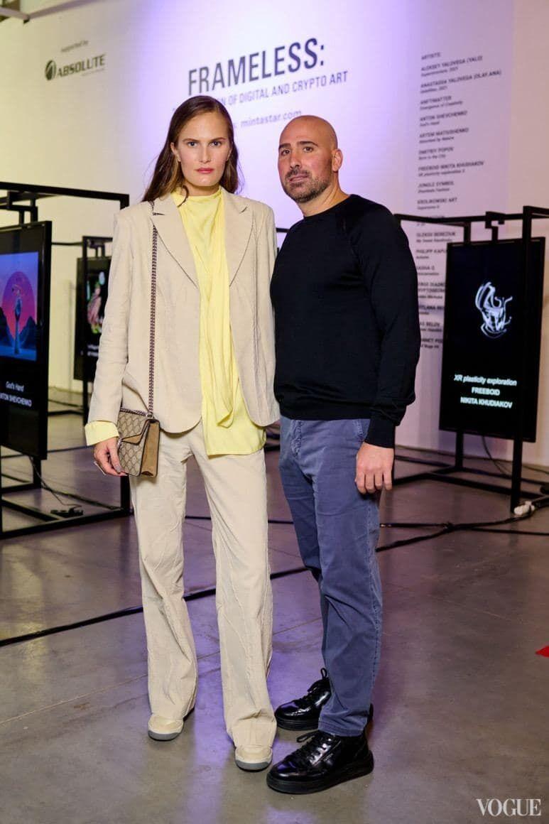 Алла Костромичева со своим мужем.