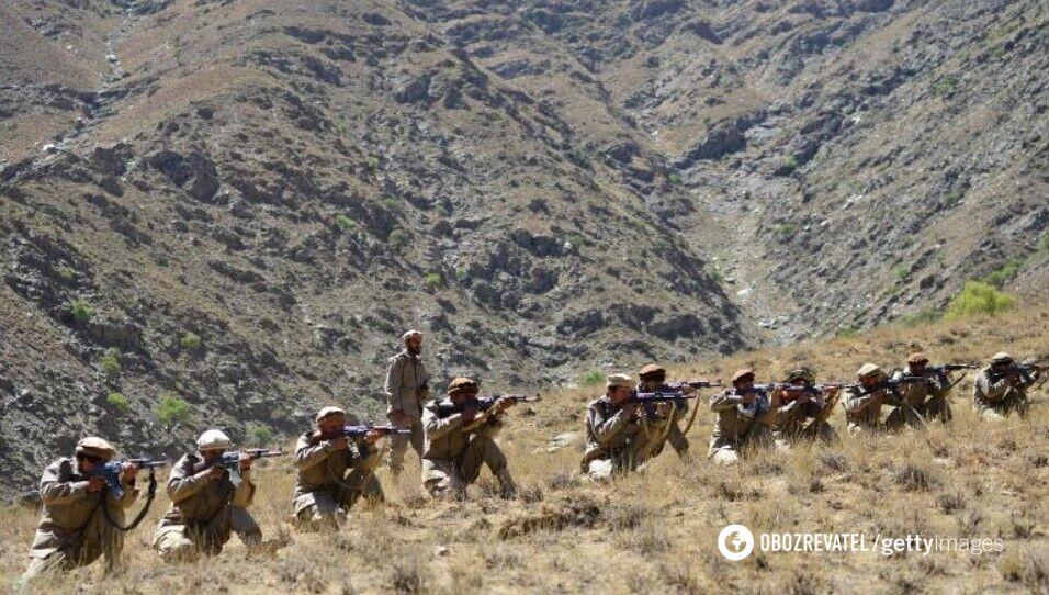 ФНС и силы антиталибов проводят военные учения в провинции Панджшер 2 сентября