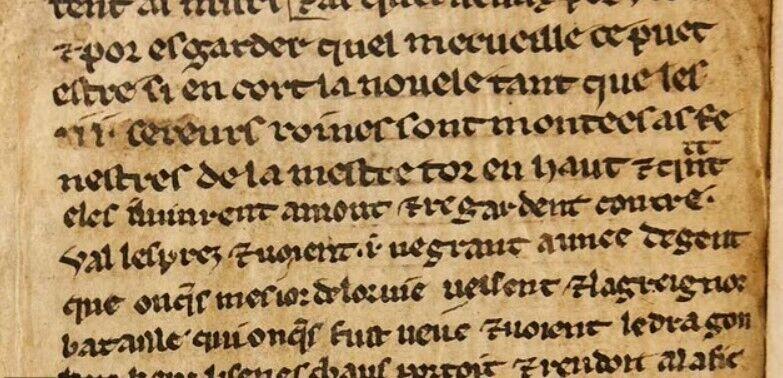 Фрагменти являють собою одні з найбільш ранніх збережених прикладів із цього розділу історії
