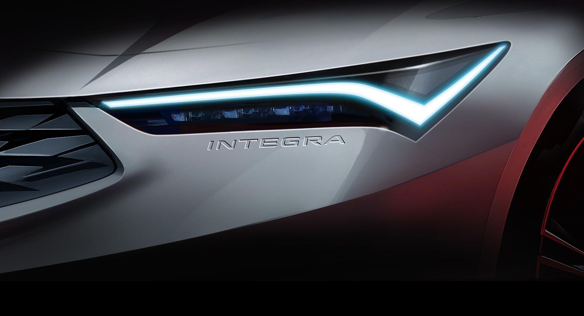 В США Acura Integra дебютирует в будущем году
