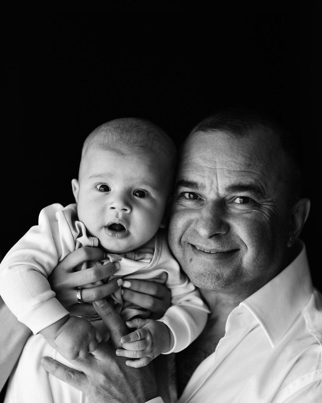 Виктор Павлик с младшим сыном