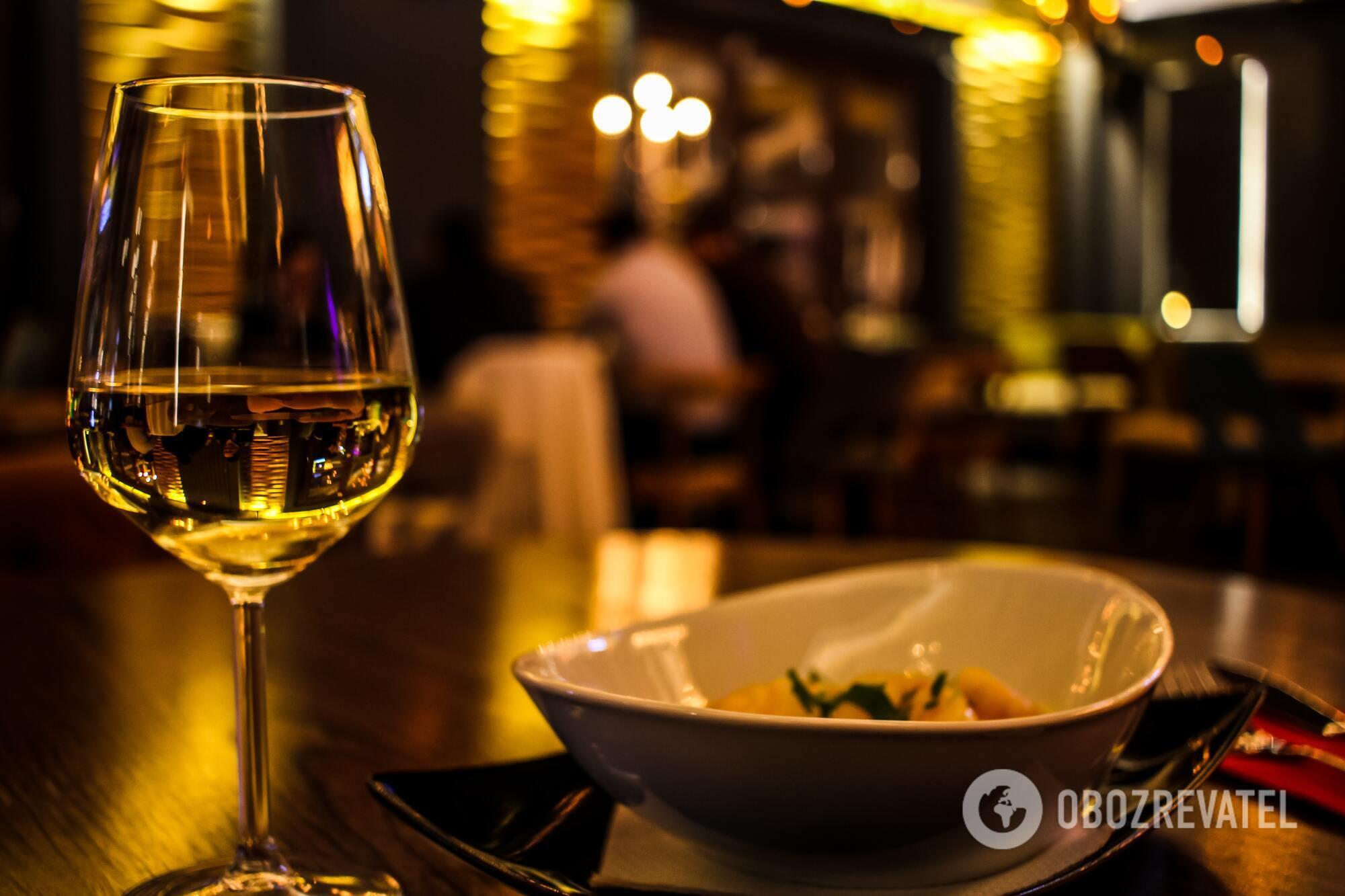 Як правильно пити біле вино