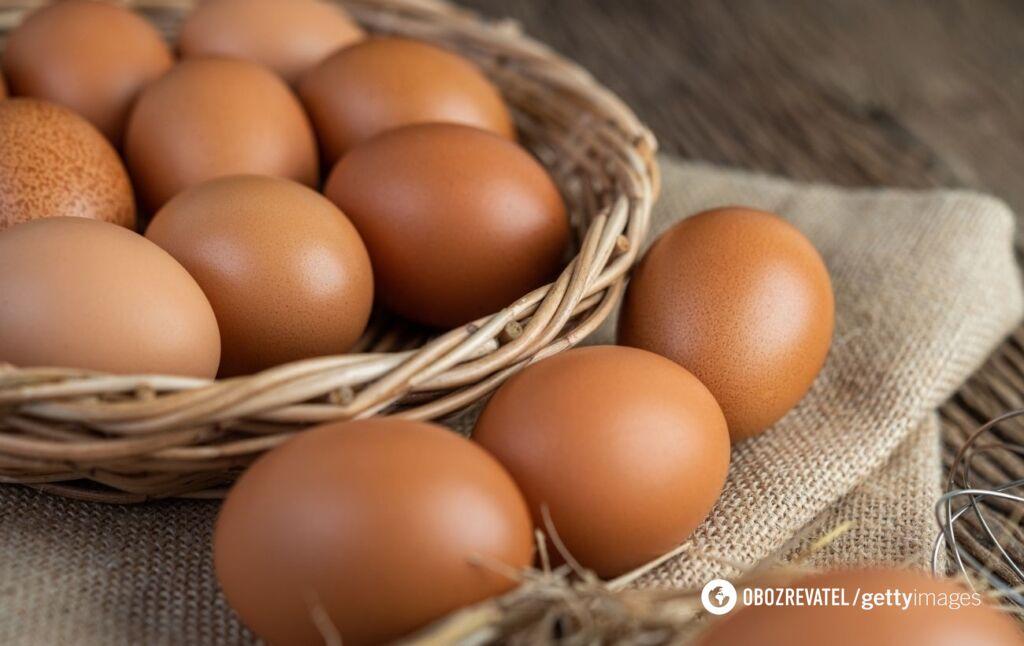 Яйця використовуйте кімнатної температури