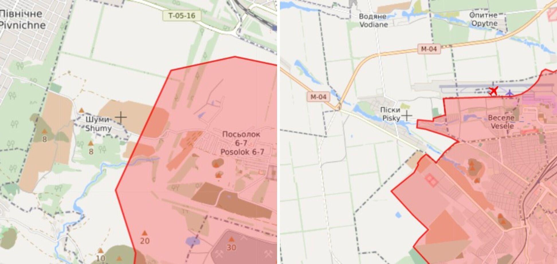 В направлении Шумов и Песков оккупанты стреляли из противотанковых гранатометов