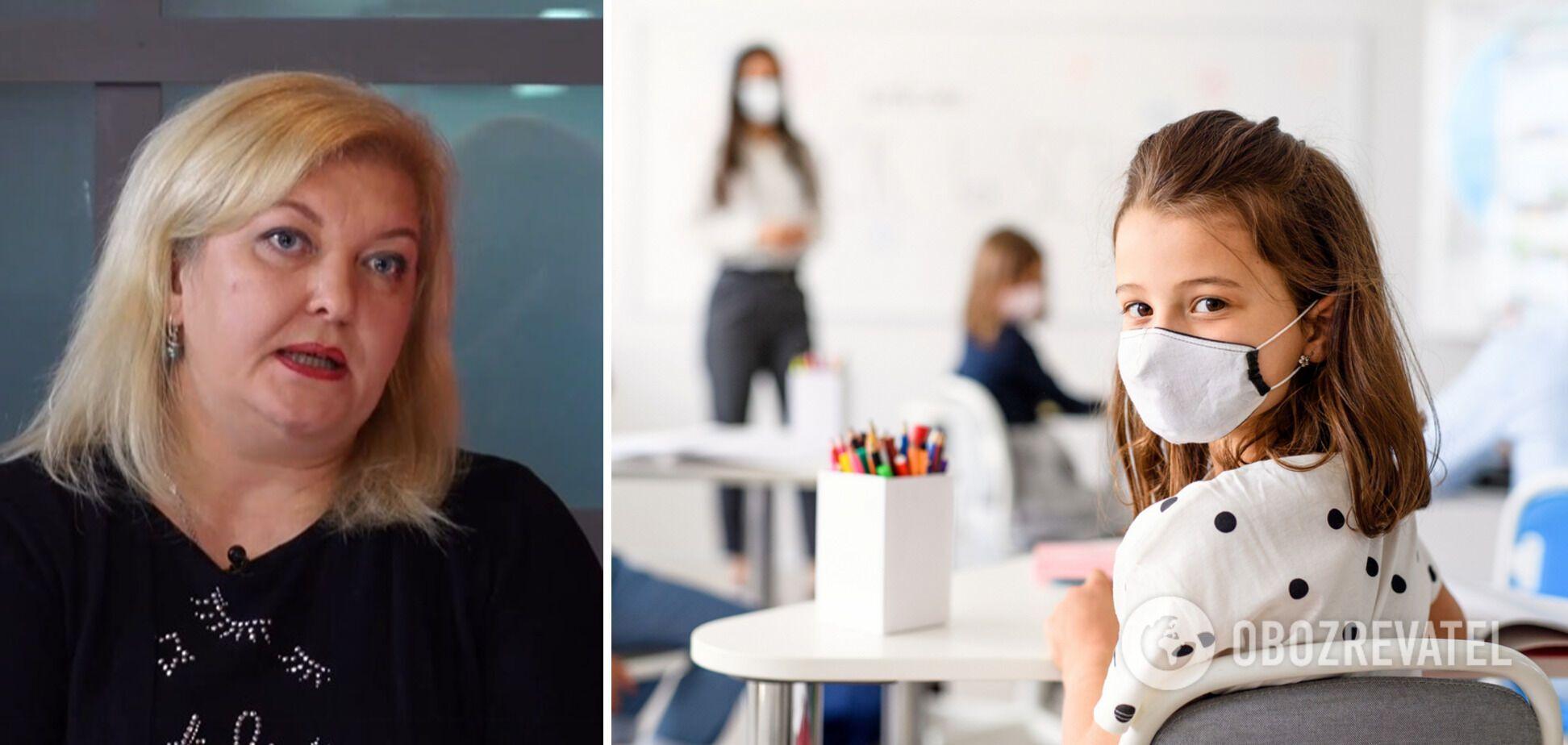 Движущей силой передачи инфекции будут дети и подростки, – Ольга Сахневич