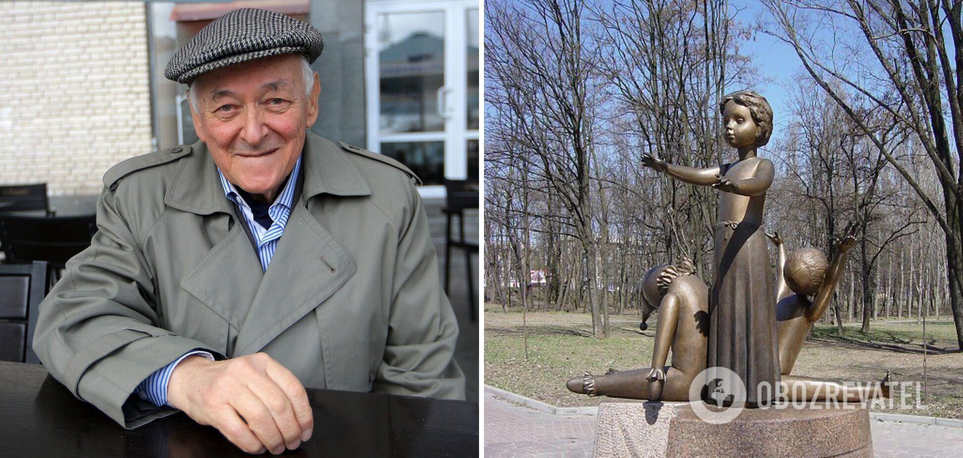 Спогад про іграшки наштовхнув Іллю Левітаса на думку, яким має бути пам'ятник дітям, загиблим у Бабиному Яру