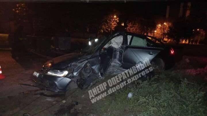 В ДТП пострадали водитель и один из пассажиров