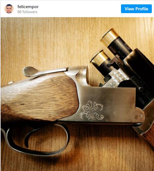Оружие, из которого возможно был убит КГБ-ист.