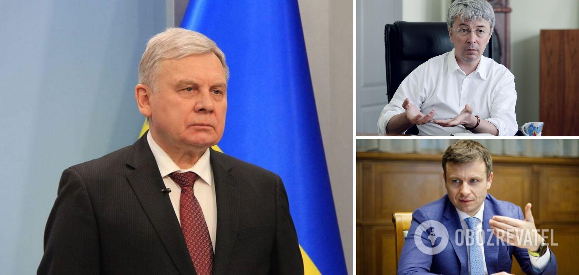 Таран, Ткаченко и Марченко могут потерять свои должности в Кабмине.