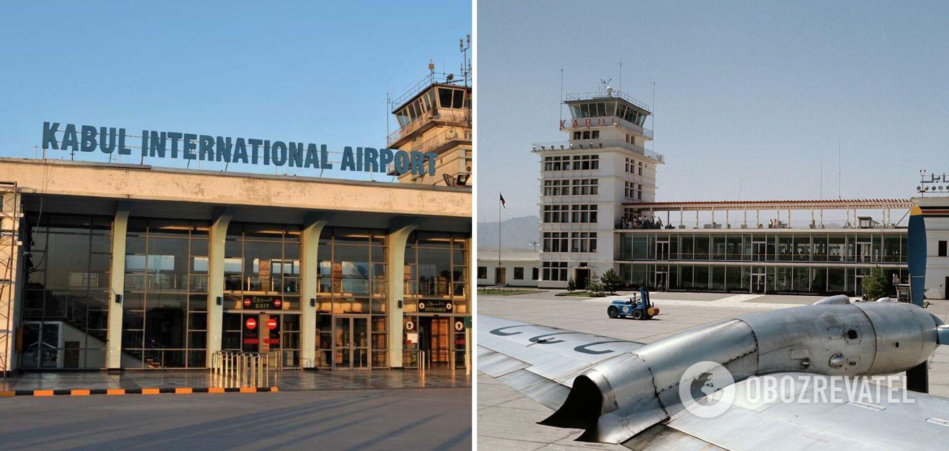 Аэропорт в Кабуле.
