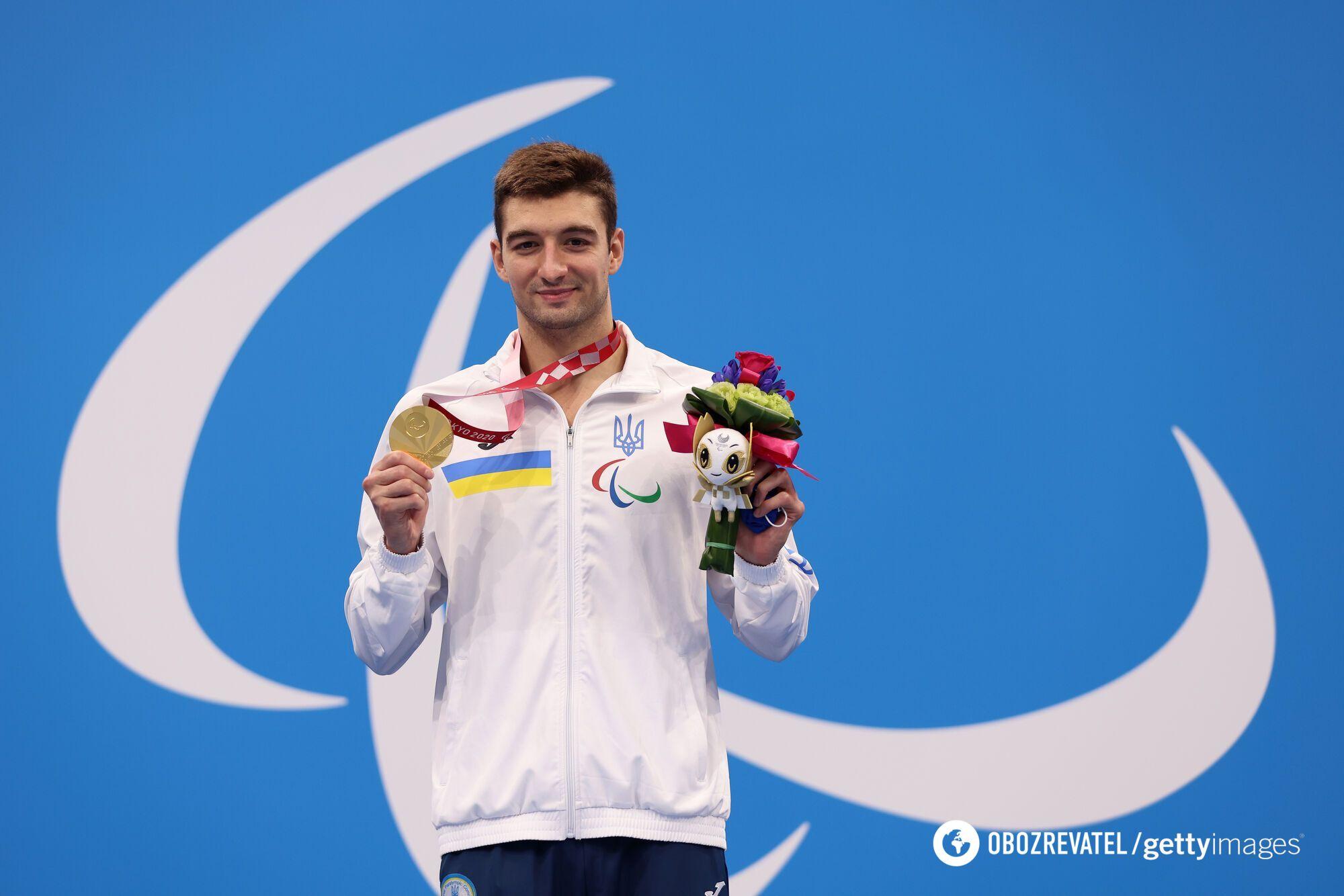 Максим Кріпак став найтитулованішим паралімпійцем в історії збірної України