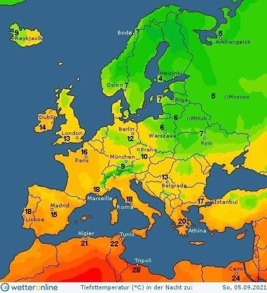 Температура по Україні.