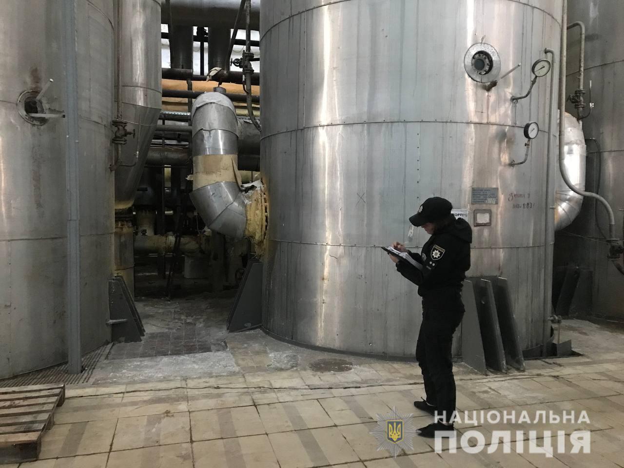 На цукровому завод вибухнув котел