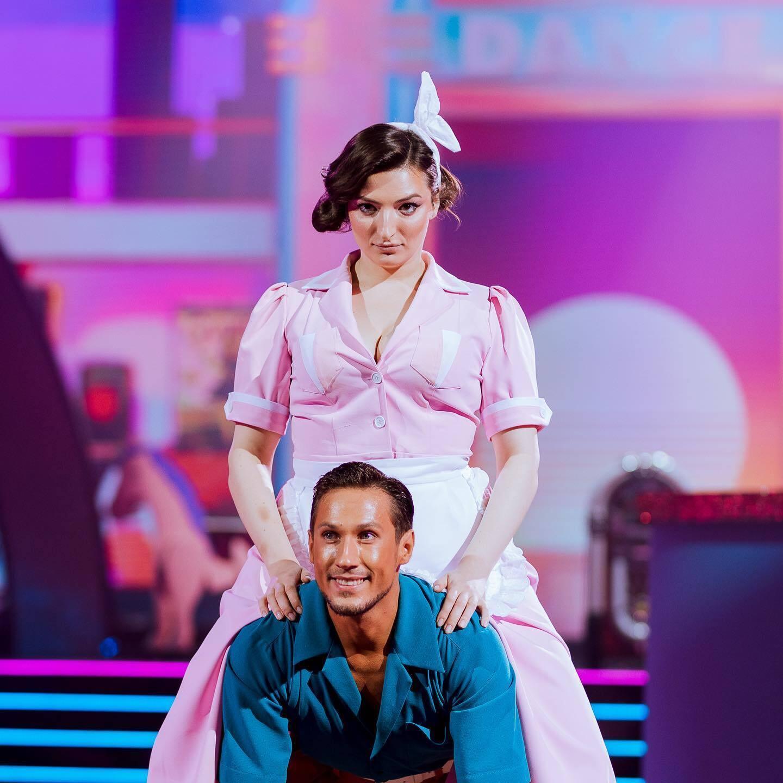 Анастасія Оруджова на танцювальному шоу