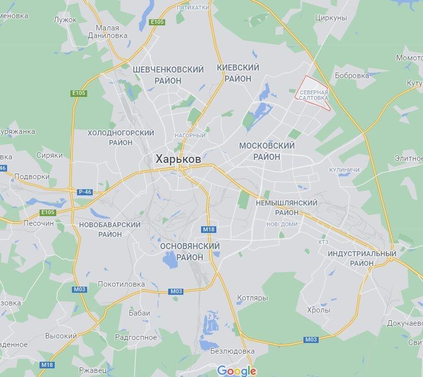 Житловий масив Салтівка в Харкові.