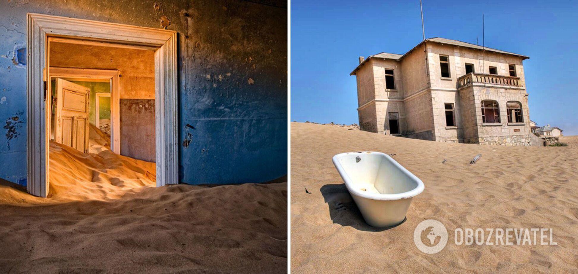 Заброшенный город-призрак Колманскоп находится в пустыне Намиб.