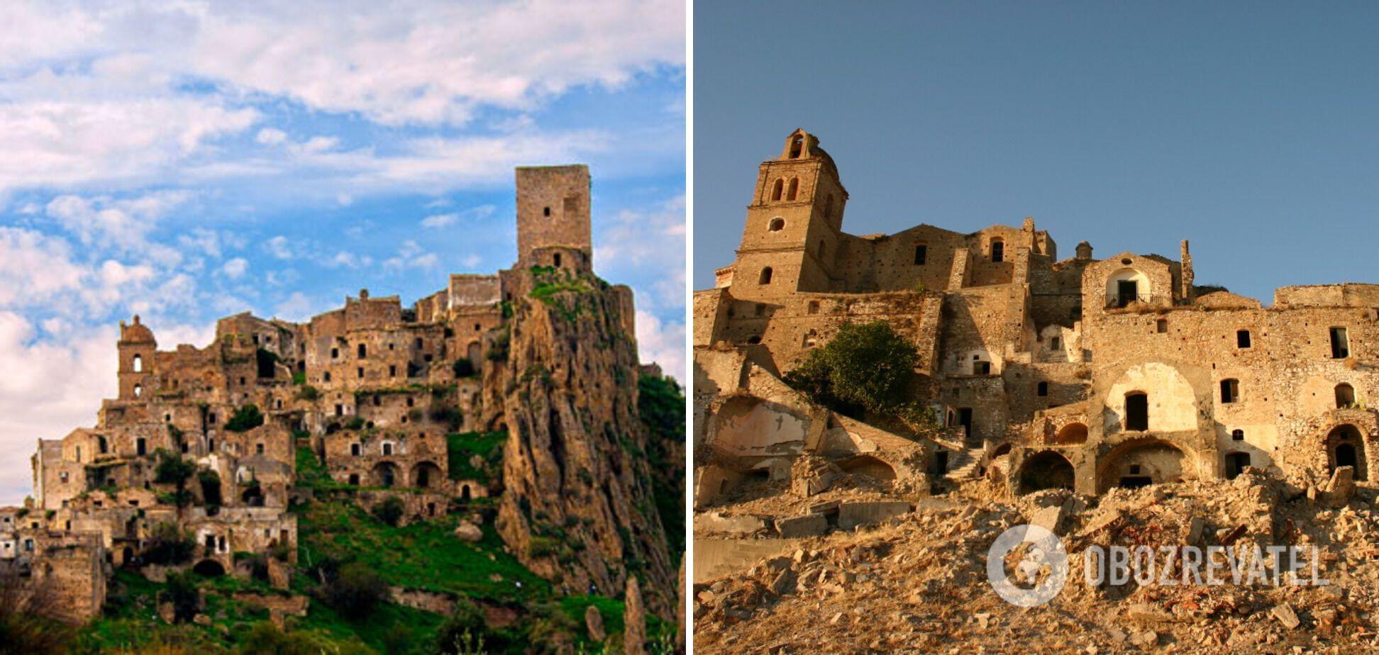 Заброшенное поселение в Италии называют городом-призраком