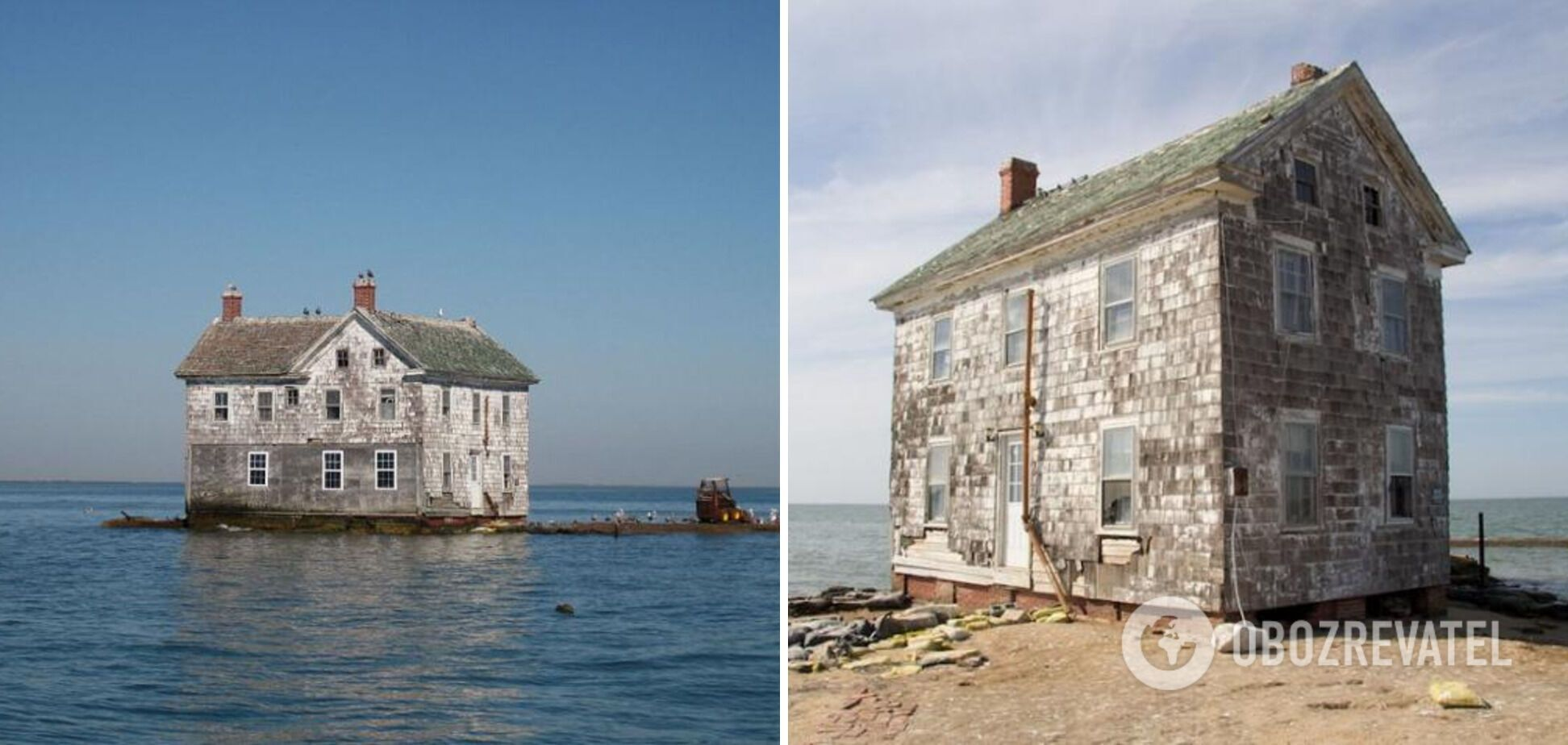 Голландский остров в Чесапикском заливе, где расположен только один дом