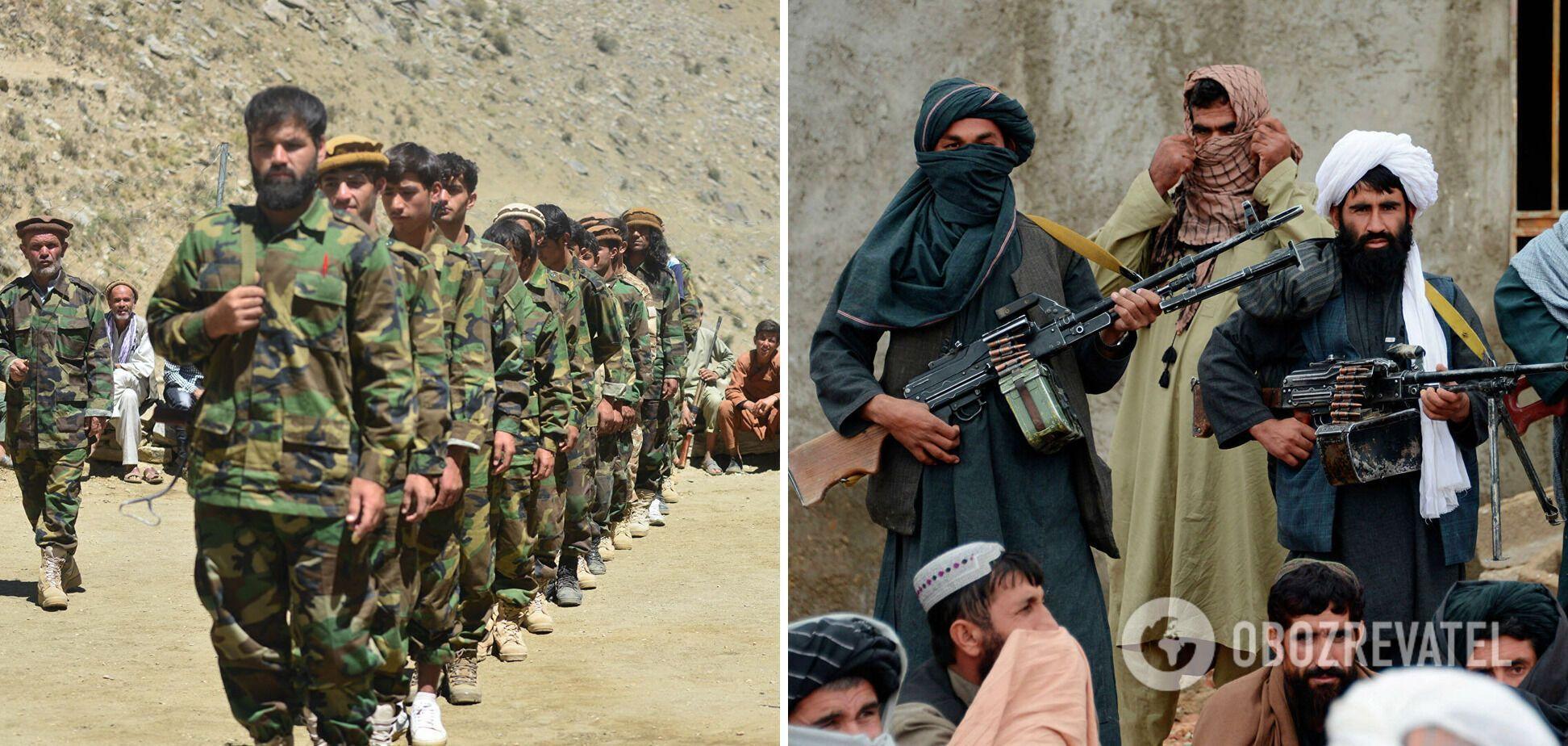 Силы сопротивления и талибы ведут бои за Панджшер.
