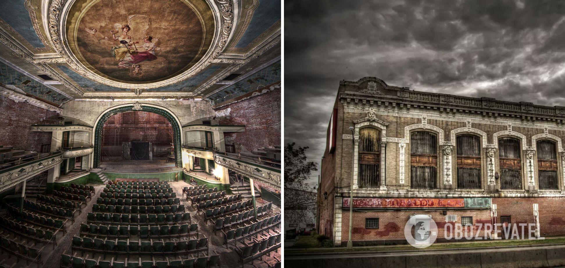 В старом театре в штате Массачусетс продавали табак