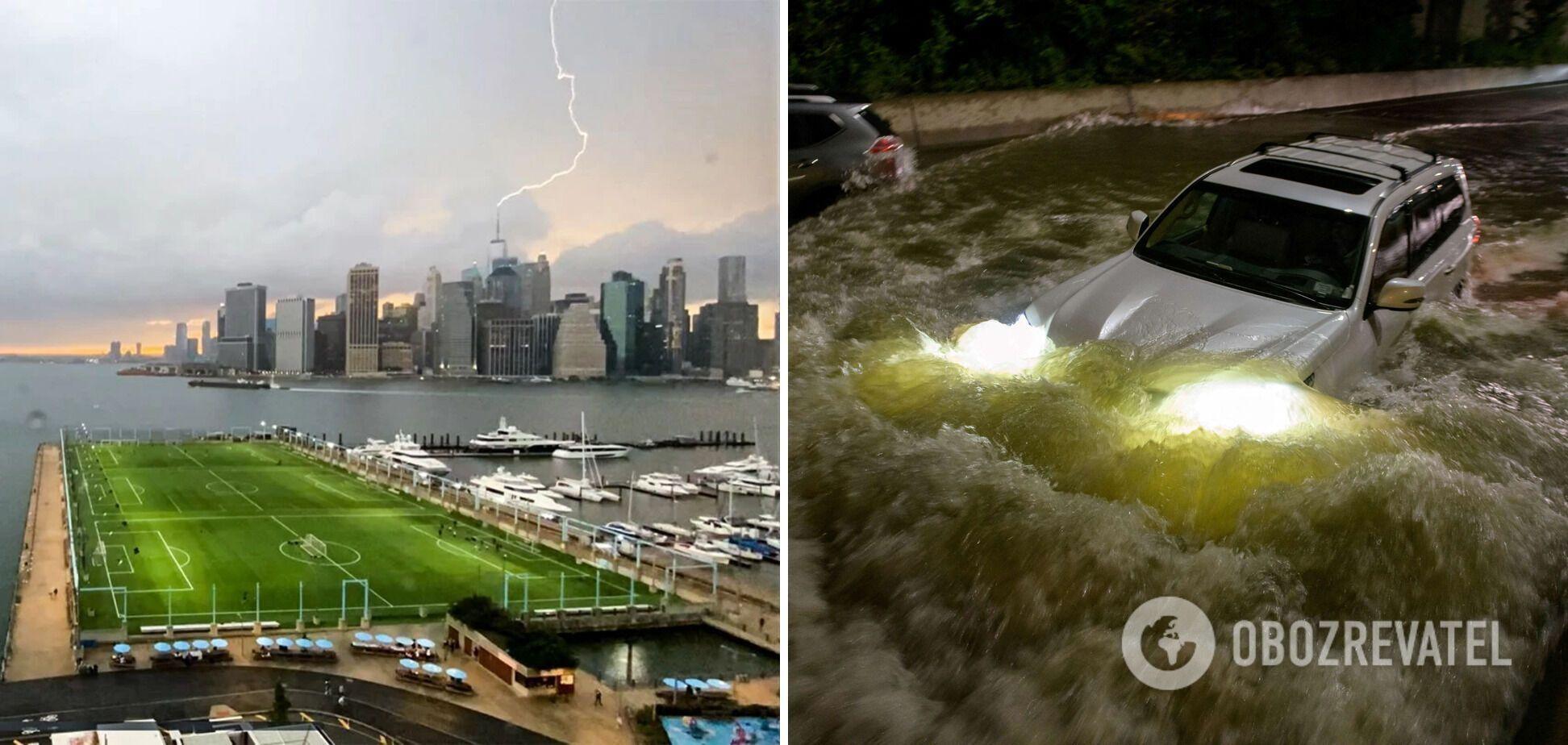 Наводнение постигло несколько штатов США