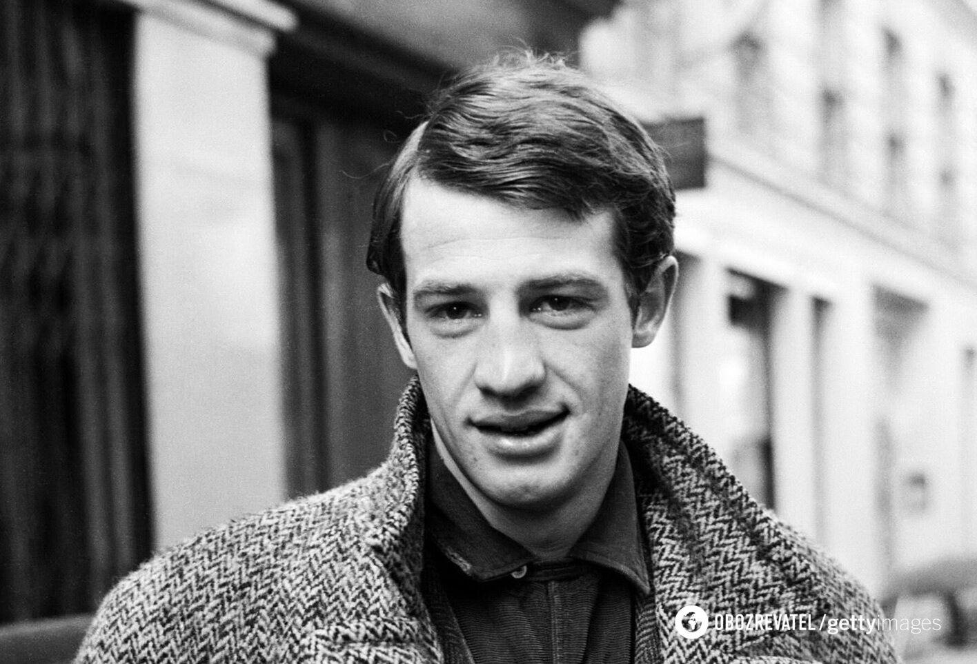 Жан-Поль Бельмондо в молодості