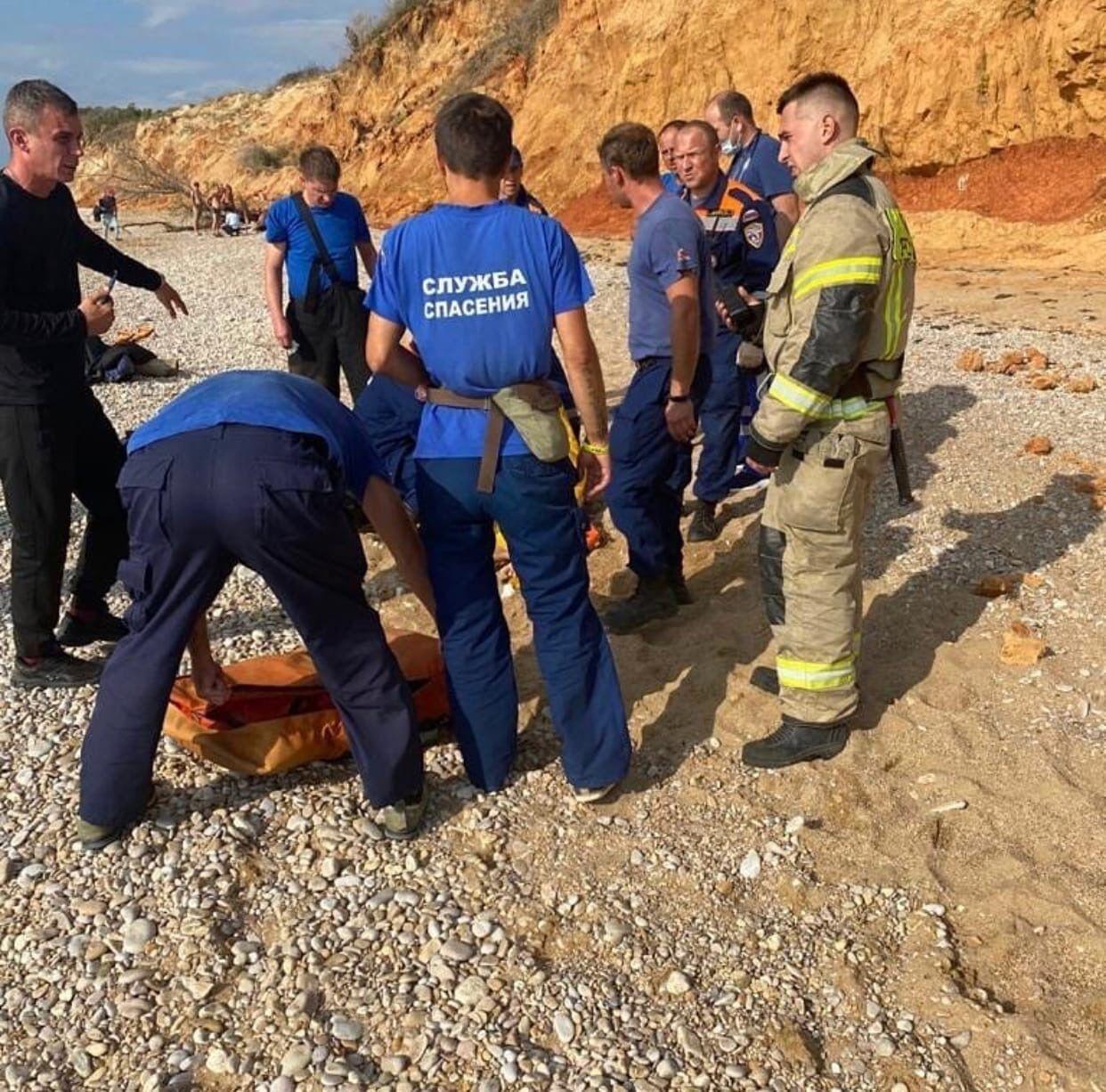 Рятувальники на пляжі