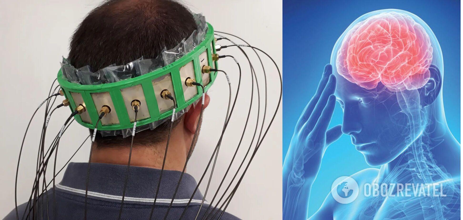 """""""Розумний"""" шолом дозволяє діагностувати інсульт на ранній стадії"""