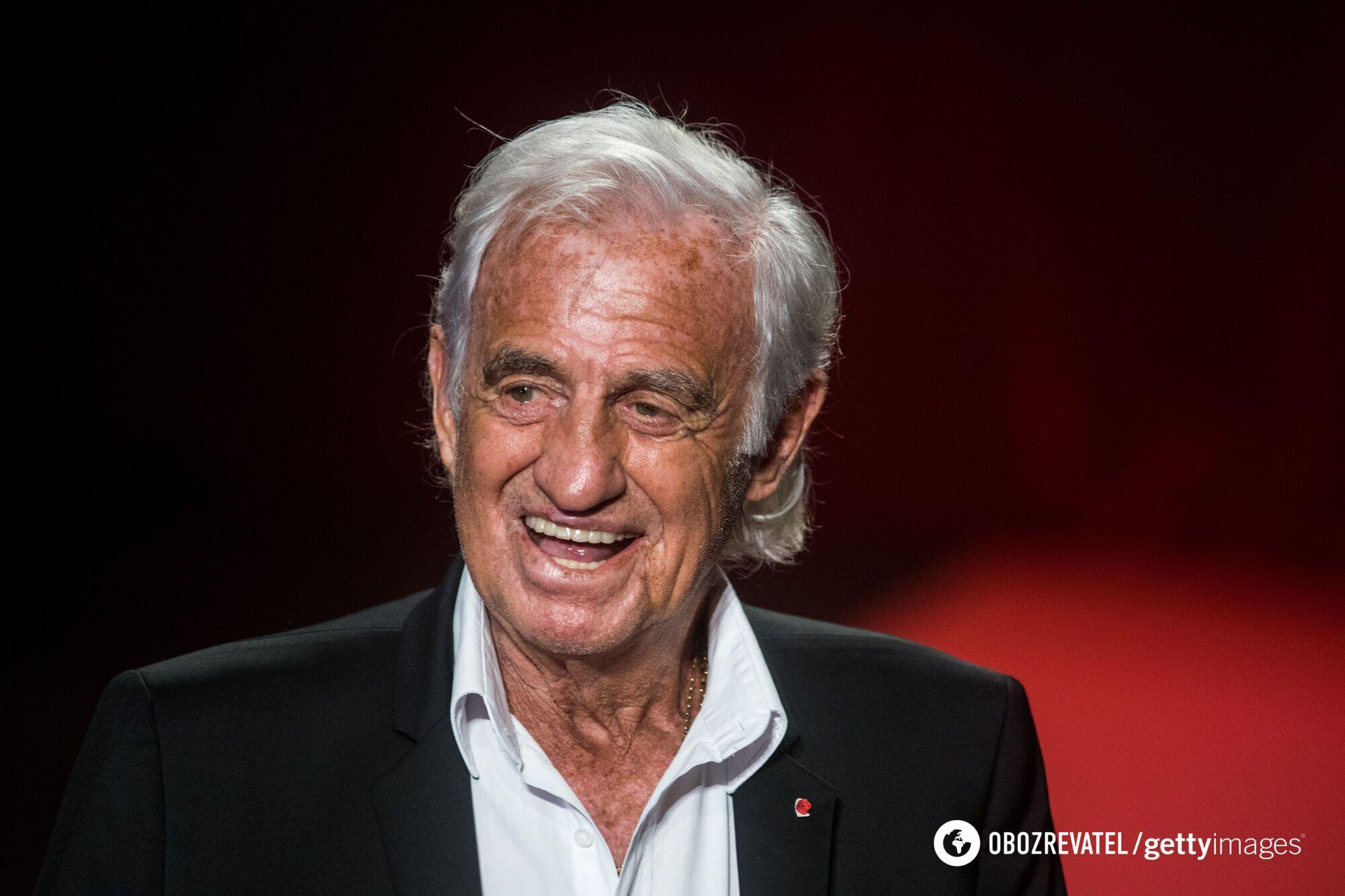 88-річний Жан-Поль Бельмондо