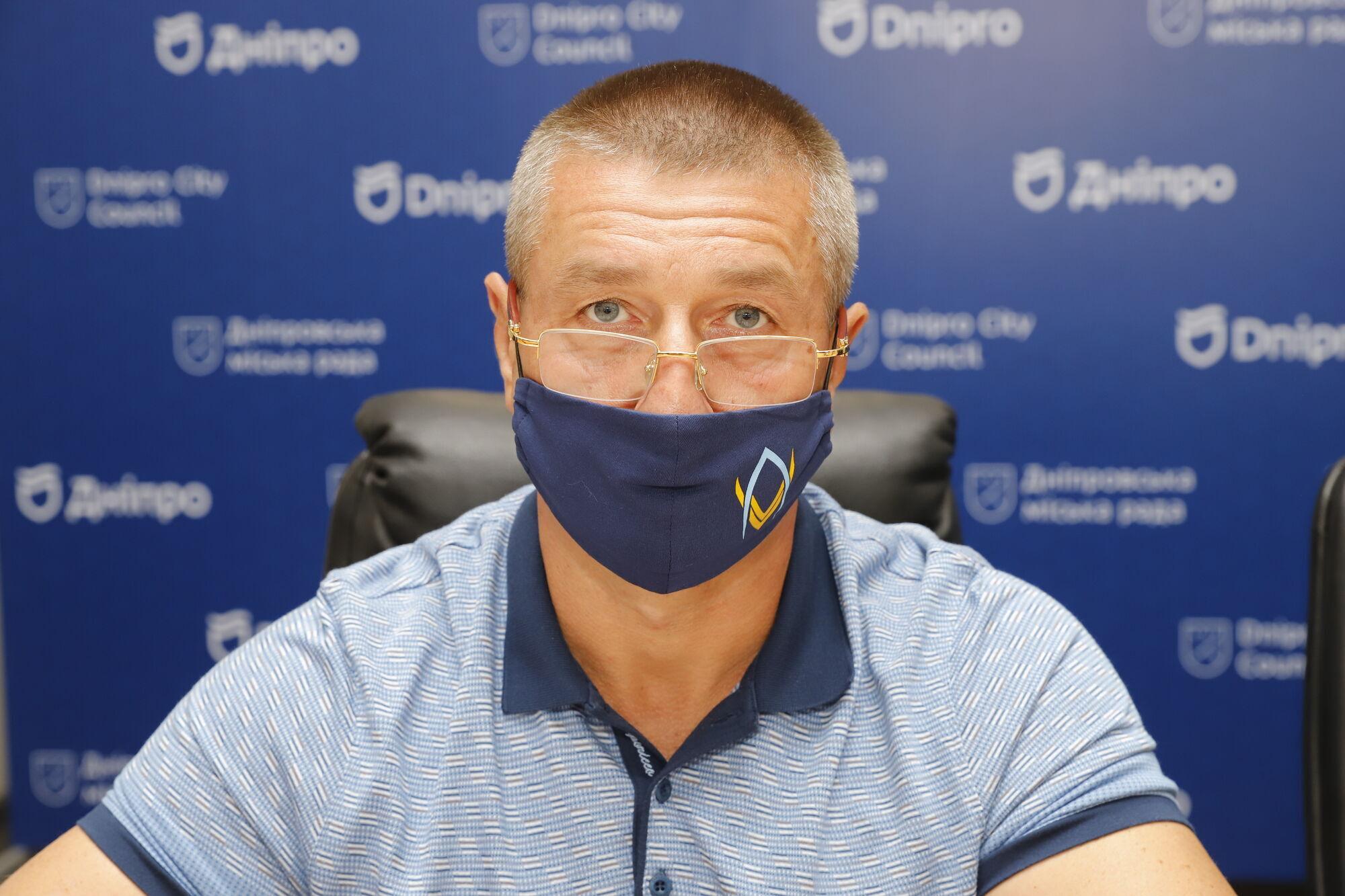Представитель мэрии Игорь Швецов