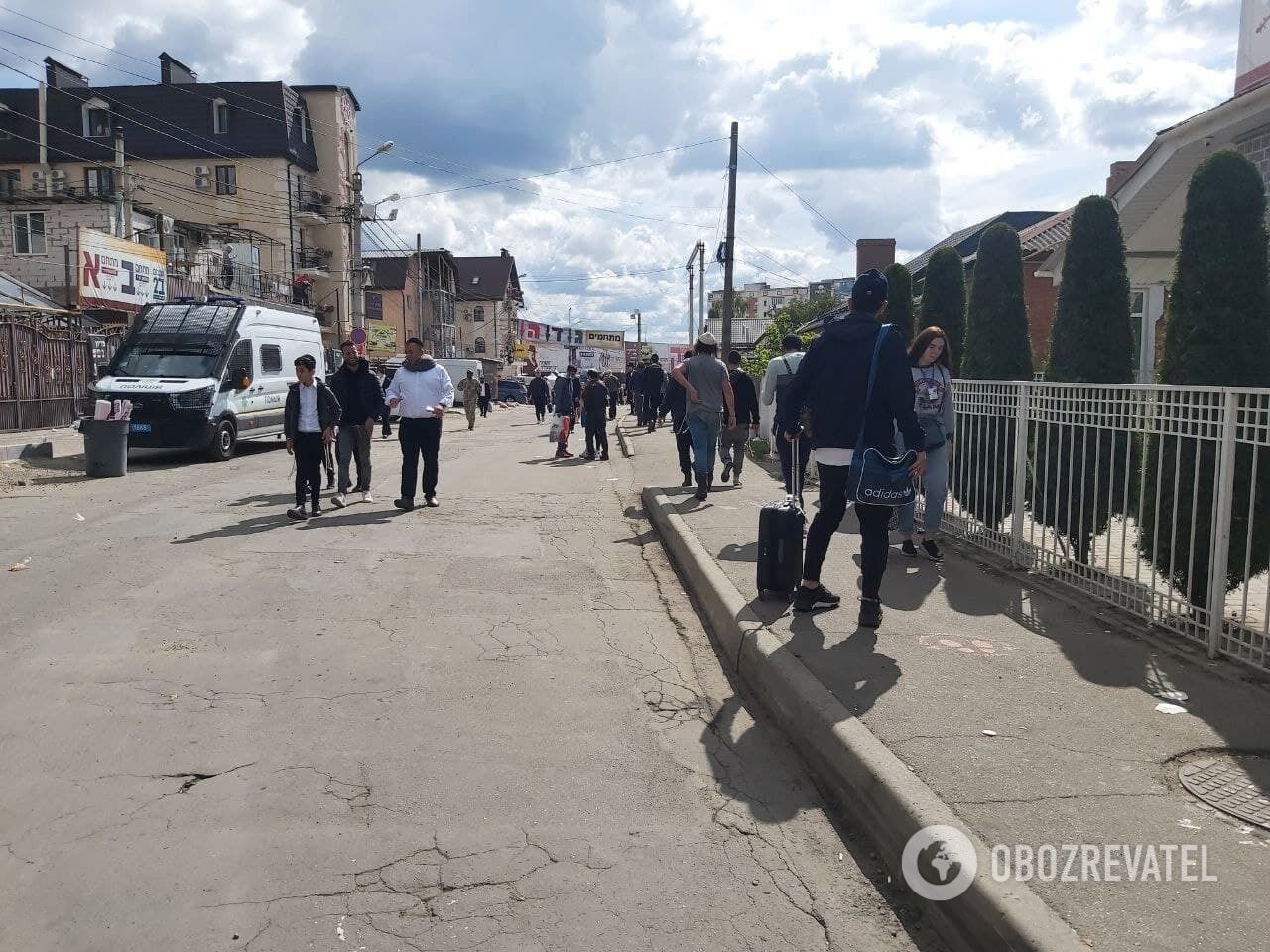 Иудеи продолжают прибывать на Черкасщину.